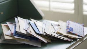 Header - Letters on Desk